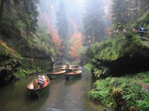 České Švýcarsko – Soutěsky řeky Kamenice, Hřensko a Pravčická brána