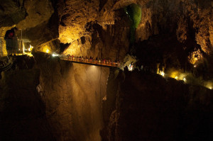 Škocjanské jeskyně – Slovinsko
